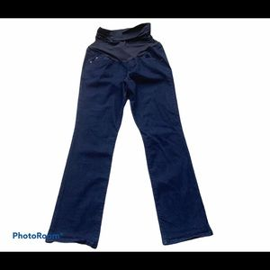 a.glow Bootcut Maternity Jeans Full Panel 10